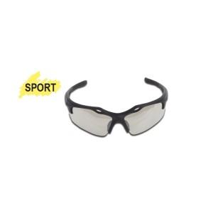 Schutzbrille mit transparenten Polykarbonat-Gläsern