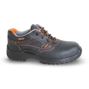 Schuhe aus vollnarbigem Leder, wasserabweisend