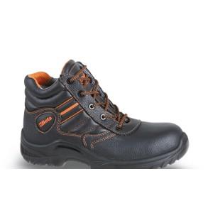 Schnür-Stiefel aus vollnarbigem Leder, wasserabweisend