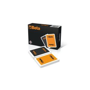 Satz 2 Kartenspiele je 55 Rommé Spielkarten Modiano®