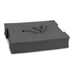Schaumstoffeinsatz, vorgewürfelt, für Werkzeugkoffer COMBO Art. C99VI, Art. C99V2 und Art. C99V3/2C