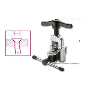 Nastavitelný nástroj na rozhánění trubek  na trubky z mědi a lehkých slitin
