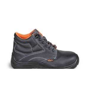 Kotníkové kožené boty, odolné proti vodě, s rychlým otevíracím systémem