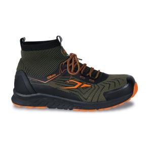 Kotníkové vysoce prodyšné boty ze síťoviny s TPU všivkami