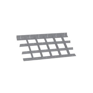 Překřížené přepážky pro standardní zásuvku 588x367 mm
