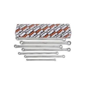 Set 7 očkových plochých klíčů, extra dlouhá série