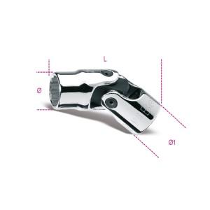 Dvojité šestihranné ruční objímky s otočnými konci