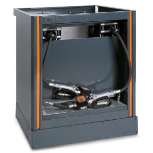 Pevný modul na distribuci oleje  pro kombinované dílenské vybavení