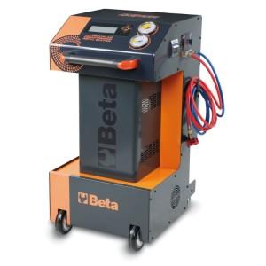 Automatická plnící stanice pro plynová klimatizační zařízení R134a