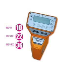 Elektronický digitální měřič momentu  se snímačem Dynatester 682  k použití buď po směru,  nebo proti směru hodinových ručiček Významná přesnost měření  K dodání se sériovým výstupem RS