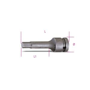 Adaptéry nástrčkových klíčů na šrouby s šestihrannou hlavou