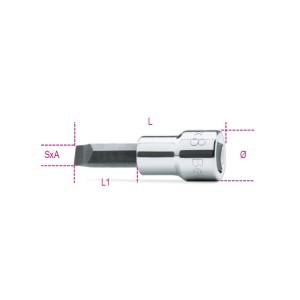 Nástrčkové adaptéry na šrouby s drážkovanou hlavou