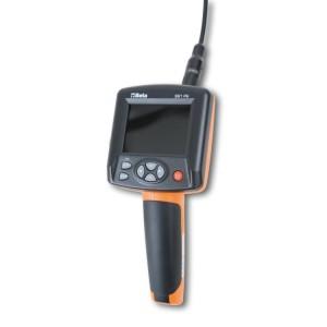 Elektronický videoskop s ohebnou sondou Umožňuje natáčet videa nebo pořizovat snímky a přímo nahrávat do zařízení
