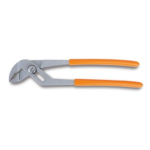 Slip joint pliers overlapping rack-type joint PVC-coated handles