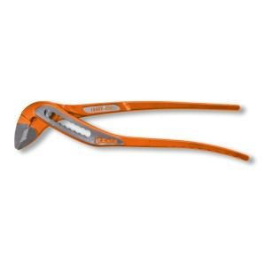 Slip joint pliers boxed joints, orange lacquered