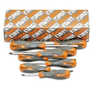 Set of 8 screwdrivers for Tamper Resistant Torx® head screws