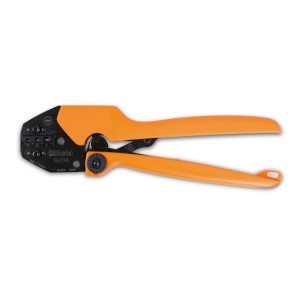 Heavy duty crimping pliers  for non-insulated terminals