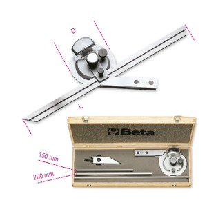Bevel protractor  made from stainless steel