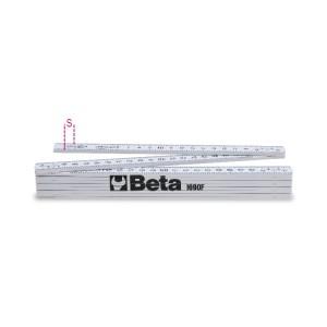 Folding ruler made of fibreglass  precision class III