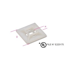 Cable tie mounts - two-way