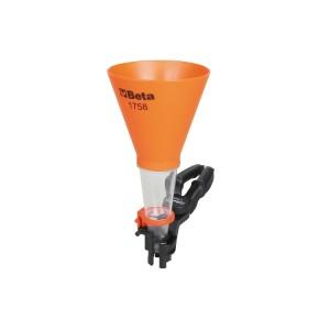 Self-adapting funnel