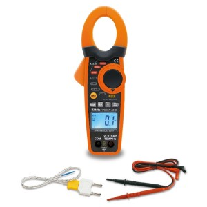 Amperometric clamp and digital multimeter