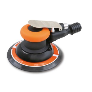 Roto-orbital palm sander, lubrication free, made from composite material