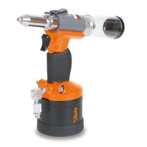 Automatic suction air riveter