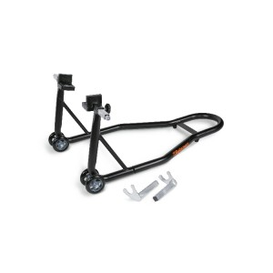 Rear motorcycle stand,  adjustable