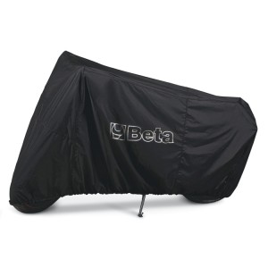 Outdoor motorcycle cover, water and dust resistant