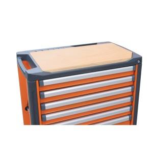Wood worktop for mobile roller cab item C37
