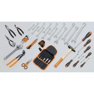 Assortment of 45 tools