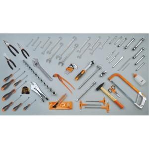 Assortment of 74 tools
