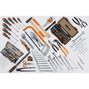 Assortment of 111 tools