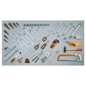 Assortment of 68 tools