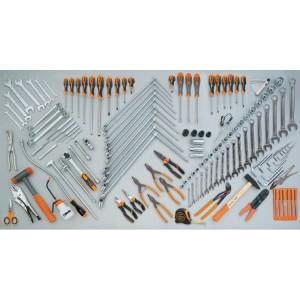 Assortment of 138 tools