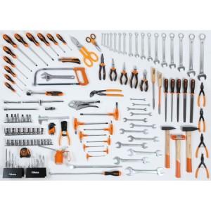 Assortment of 133 tools