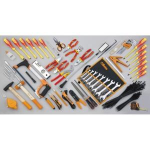 Assortment of 64 tools