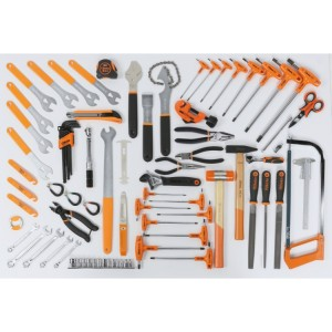 Assortment of 90 tools