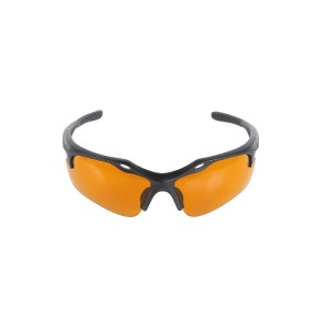 Leak detection glasses with UV lights