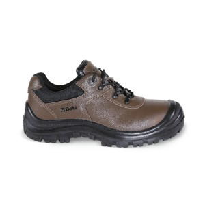 Action Nubuck shoe, waterproof, with reinforcement polyurethane toe cap cover