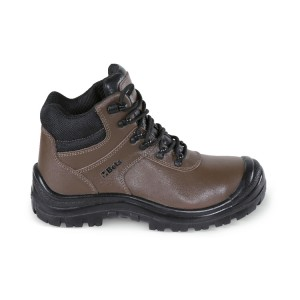 Action Nubuck ankle shoe, waterproof, with quick opening system and reinforcement polyurethane toe cap cover