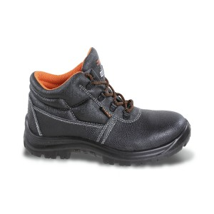 Leather ankle shoe, waterproof,  without toe cap and penetration proof insole