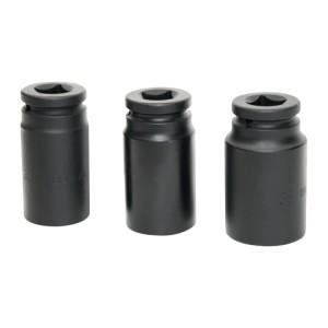 Set of impact sockets
