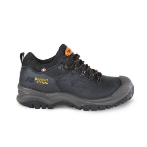 Nubuck shoe, waterproof, with SUPPORT SYSTEM for lateral ankle support