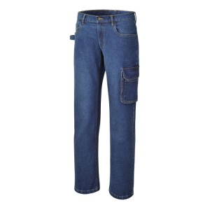 Stretch work jeans trousers