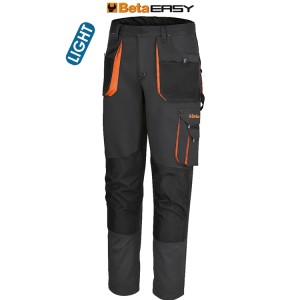 Work trousers, lightweight  New design - Improved fit