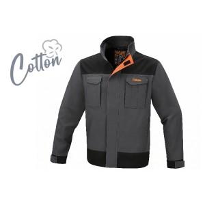Work jacket, 100% stretch cotton, 220 g/m2 Slim fit