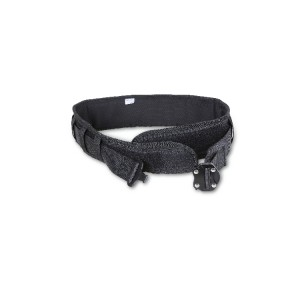 Safety belt with metal double closure buckle. To connect H-SAFE tools