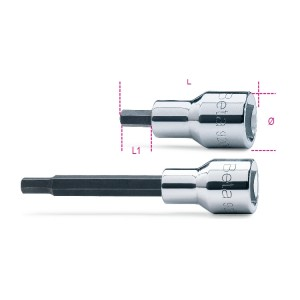 Socket drivers for hexagon screws